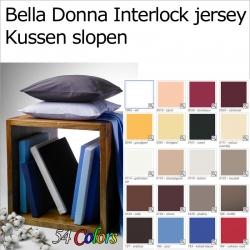 Bella Donna interlock jersey kussenslopen (2stuks)