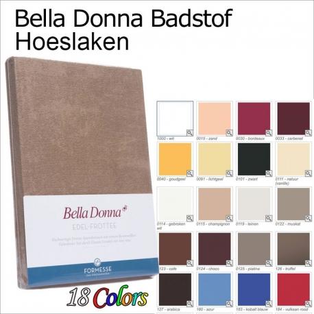 Bella Donna edel Frottee badstof hoeslaken